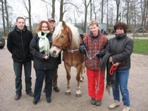 Donatie pony aan Borgboerderij de Mikkelhorst